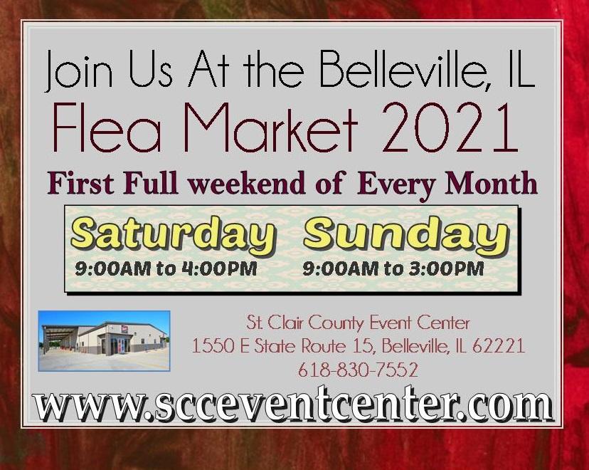 2021 Flea Market Calender